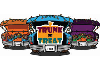 Trunk or Treat:  October 30th