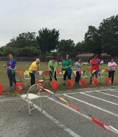 3rd Grade relay fun!