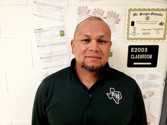 Sergio Gonzalez, ELA Teacher