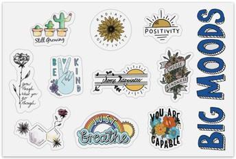 Big Moods Vinyl Stickers- online retailer