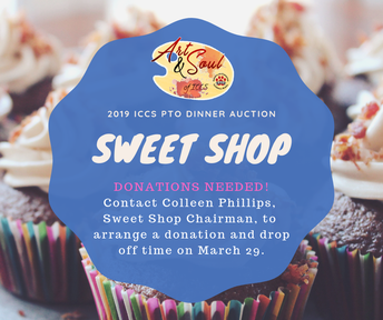 AUCTION SWEET SHOP DONATIONS NEEDED