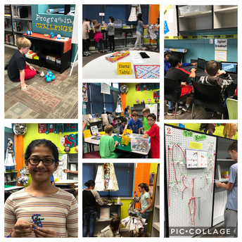 Exploring, Creating, and Having Fun with Maker Space