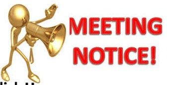 MEETING NOTICE...