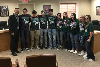 State Golf Team Recognized!