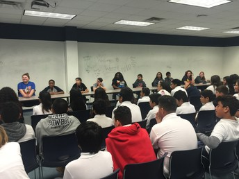Speak with Junior High Students