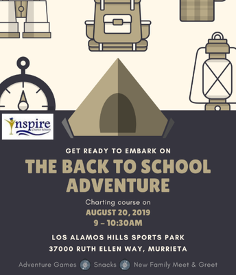 MURRIETA The Back to School Adventure!
