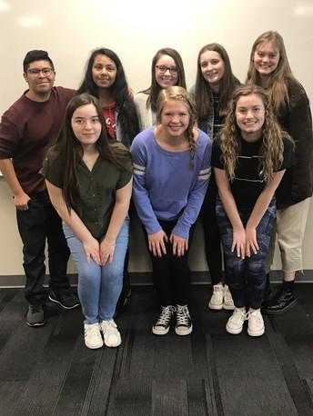 2020 Liberty High School World Affairs Seminar Selections