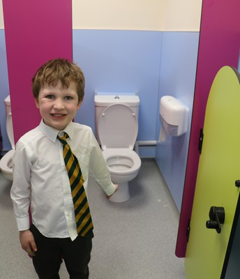 Nifty new toilets