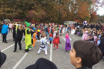 Halloween Parade - A PRES Tradition