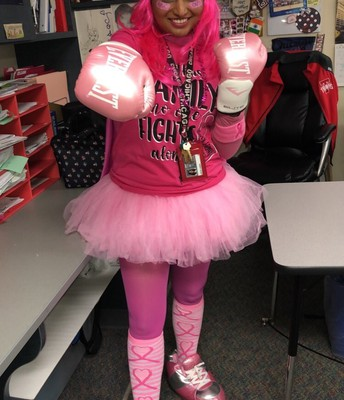 MRS. JOSEPH READY TO FIGHT OFF CANCER!
