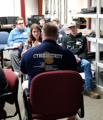 WHS students interested in Cybersecurity