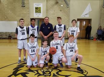 2019 8th Grade MS Basketball