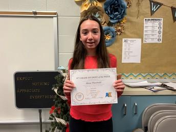 Alexa Theobald--- 8th Grade