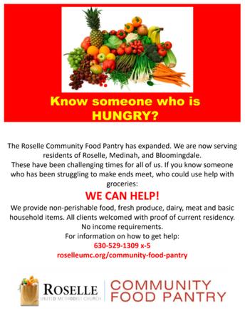 Roselle Community Food Pantry