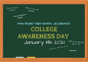College Awareness Day January 11th, 2021