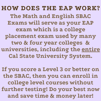 Why taking EAP is important?