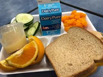 Update on New Lunch Procedures