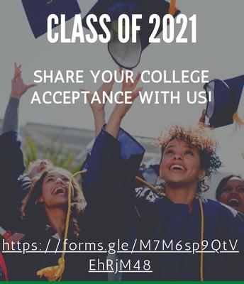 College Acceptance!