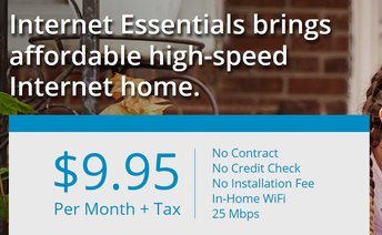 Reminder--Internet Essentials from Comcast is Now Free For Two Months For New Customers