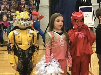 Elementary Halloween Parade!