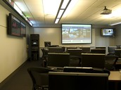 Presentation room in Sutliff Hall