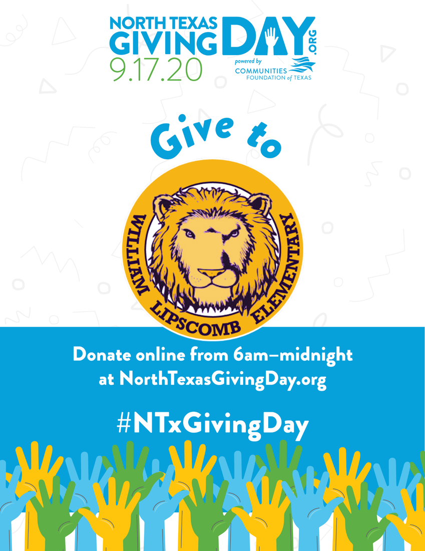Donate to Lipscomb Elementary PTA on NTGD