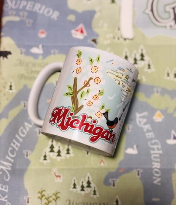 Michigan Hearts Classic Mug