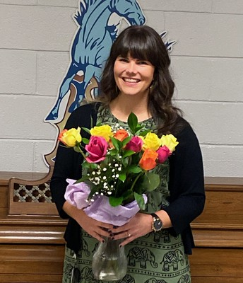 Ms. Asp, Midway's Teacher of the Year