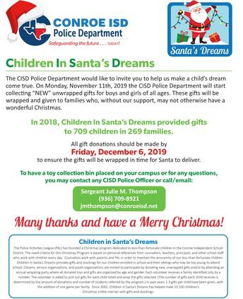 Children In Santa's Dreams