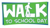 Walk to School Day is October 4!