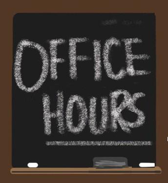 Horario de oficina de la nueva escuela: