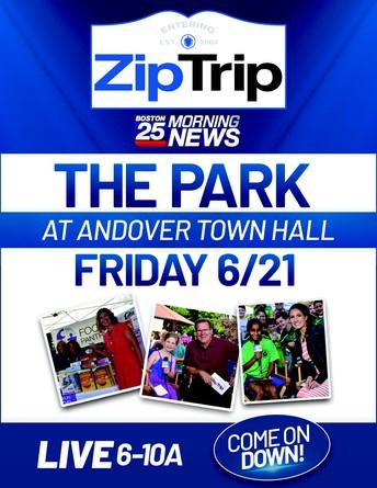 Boston 25 Zip Trips comes to Andover!