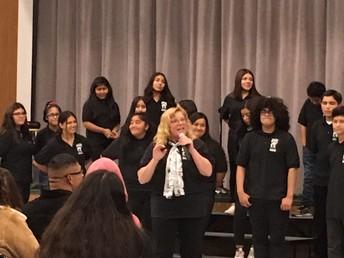 Victoria Zieber Leads Music Program