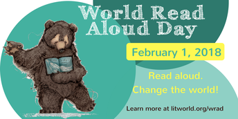 World Read Aloud Day - February 1