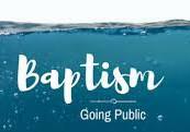 Step #2 - Baptism