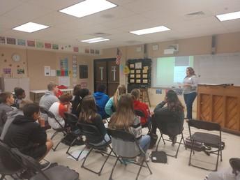 Amy Schoebelen teaches us about Social Work!