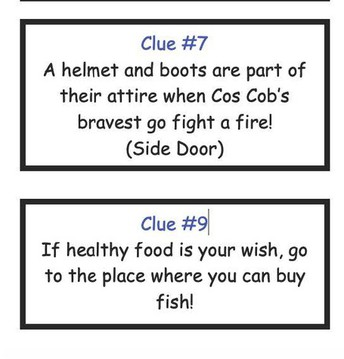Challenging clues.