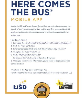 New Bus App - English