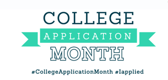 COLLEGE APPLICATION MONTH - October