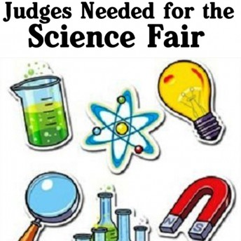 We need your help! Science Fair Judges Are Needed!