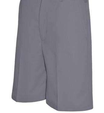 Steel Grey Twill Walking Shorts (Boys & Girls)