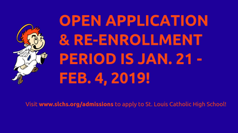 Apply/Re-Enroll for 2019-2020 By Feb. 4
