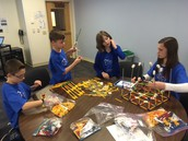 OVES & OVMS Students Compete in K'nex Competition