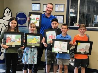 Coventry Students Win Douglas Automotive Art Contest
