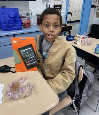 3rd Grade Fire Tablet Winner