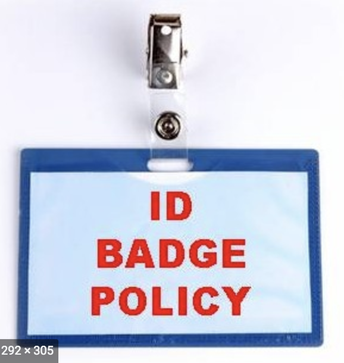 Badge policy