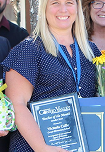 Congratulations Victoria Calle of Conejo Elementary – Our October Teacher of the Month