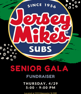 Fundraise for the Senior Gala!