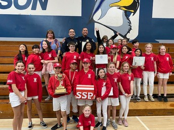 Sunset Hills Elementary Safety Patrol Named #1 by San Diego Police