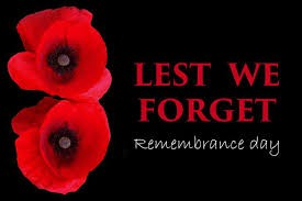 Remembrance Day - Nov 11